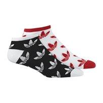 Adidas יוניסקס// Trefoil Thin Ankle Socks 2 Pairs