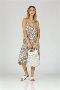 שמלה פלורי - כאמל