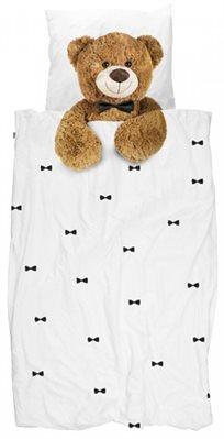 סט מצעים מעוצבים למיטת נוער / יחיד - דובי