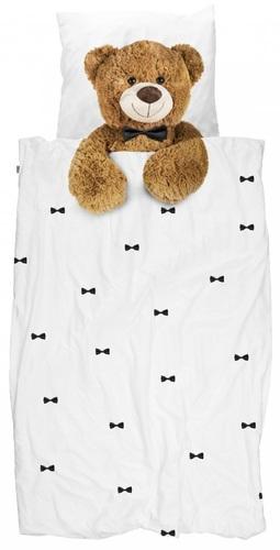 נפלאות סט מצעים מעוצבים למיטת נוער / יחיד - דובי CO-65