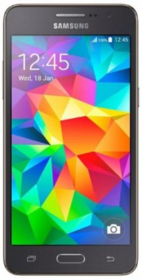 """טלפון סלולרי Samsung Galaxy Grand Prime SM-G530H עם מסך """"5, מעבד quad core ו-8GB זיכרון"""