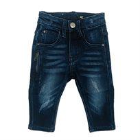 ג'ינס Oro לילדים (מידות 12 חודשים-16 שנים) - כחול רוכסן