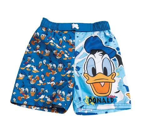 מכנסי גלישה דונלד דאק לילדים - כחול