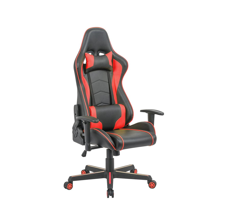 כיסא פרו-גיימר נוח לישיבה ממושכת בעל משענת גב נוחה וגבוהה במיוחד לבית או למשרד HOMAX - תמונה 4