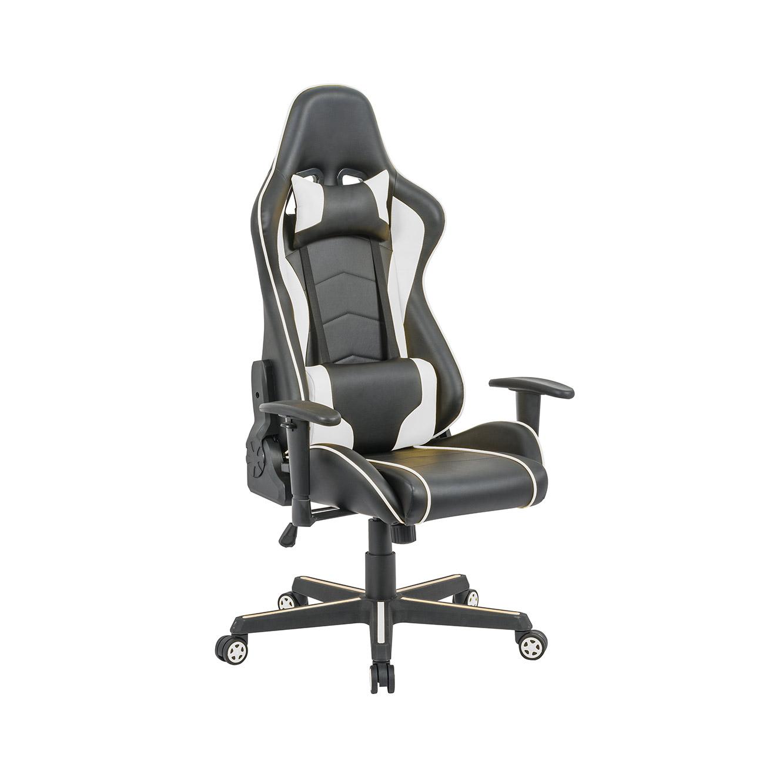 כיסא פרו-גיימר נוח לישיבה ממושכת בעל משענת גב נוחה וגבוהה במיוחד לבית או למשרד HOMAX - תמונה 5