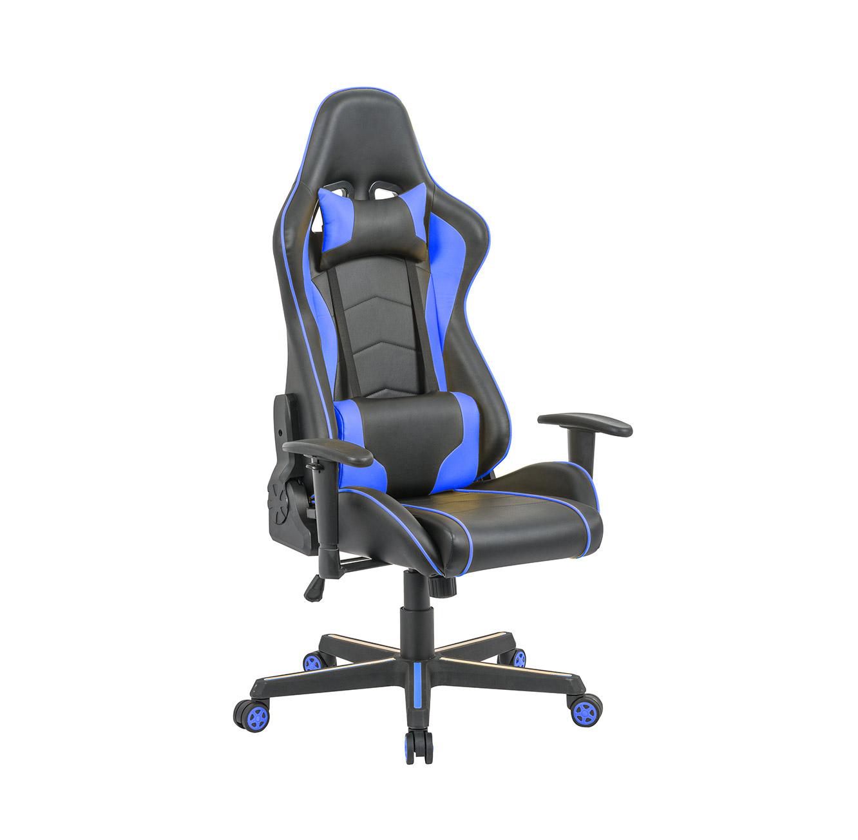כיסא פרו-גיימר נוח לישיבה ממושכת בעל משענת גב נוחה וגבוהה במיוחד לבית או למשרד HOMAX - תמונה 3