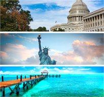 """טיול מאורגן לארה""""ב ושבוע שיט לקריביים ל-17 ימים החל מכ-$4250*"""