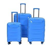 סט מזוודות קשיחות עם P.C - צבע לבחירה