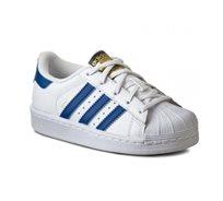 adidas superstar נעליים (35-32) לבן כחול