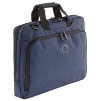 Delsey Esplanade Slim Briefcase - Navy