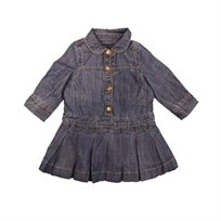 Tommy Hilfiger שמלה (24-6 חודשים) - ג'ינס