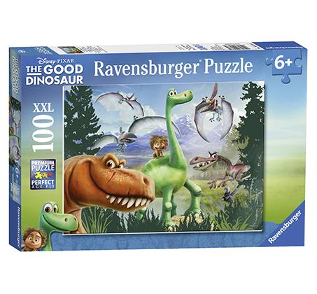 פאזל דינוזאור הטוב והילד 100 חלקים Ravensburger