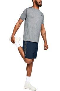 מכנס אימון קצר UNDER ARMOUR לגבר בצבע כחול
