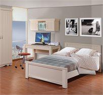 מיטת נוער 120X190 דגם אדיר בעיצוב מודרני ב-5 גוונים לבחירה