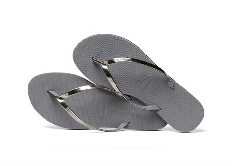 Havaianas נשים//  You Metallic Steel Grey