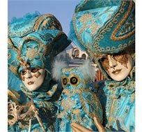 מתחפשים בוונציה! טיסות בלבד או טיסות ומלון ל-4 או 7 לילות של פסטיבל מסכות איטלקי החל מכ-€292* לאדם!