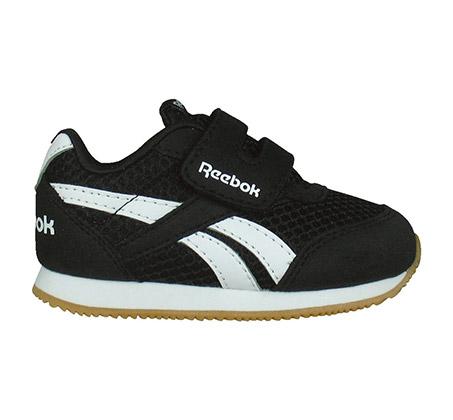 נעלי סניקרס לפעוטות Reebok Royal CLJog 2 KC - שחור/לבן
