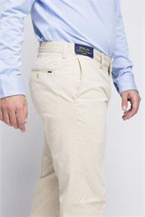 מכנסיים לגבר POLO RALPH LAUREN בצבע קרם בהיר