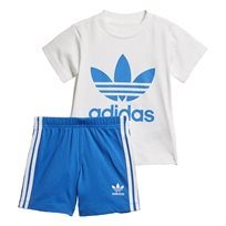 ADIDAS תינוקות// SHORT TEE SET BLUE BIRD