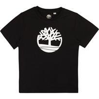 Timberland טימברלנד טישרט (2-16 שנים) - שחור סמל גדול