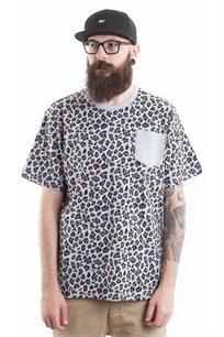 חולצת טי לגברים SUPPLY בצבע מנומר