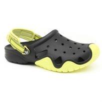 Crocs Swiftwater Clog - כפכף קרוקס לגברים בעיצוב חדשני בצבע שחורירוק