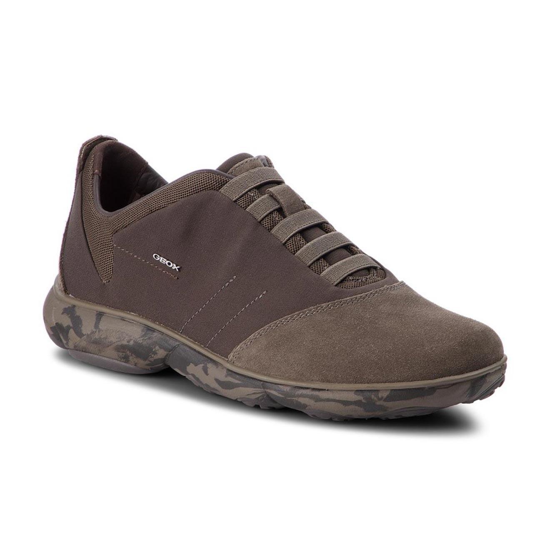 נעלי קז'ואל GEOX לגברים U NEBULA B - TEXTILE+SUEDE - צבע לבחירה