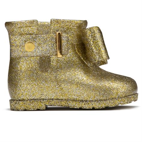 Melissa ילדים// Mini Sugar Rain Bowglass Gold Glitter