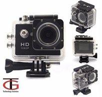 מצלמת וידאו FULL HD משולבת לפעילויות אקסטרים ספורט ופנאי כולל תפריט בעברית!