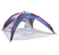 אוהל חוף משפחתי CAMP&GO + מגן מסך נוזלי בטכנולוגיית NANO מתנה