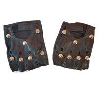 אביזרים לתחפושת נועה קירל - זוג כפפות ניטים