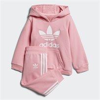 Adidas תינוקות// Trefoil Tracksuit Pink/White