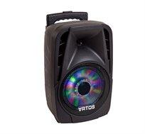 בידורית ניידת LED STORM עוצמתית עם הספק 30 וואט וכולל מיקרופון אלחוטי
