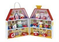 בית הלו קיטי המכיל דמות קיטי למשחק חוויתי מלא דימיון והנאה - משלוח חינם!