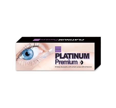 פנטסטי עדשות מגע יומיות Platinum premium עם חוסם UV רק ₪60 לחבילה! מארז IB-62