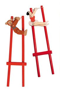 חווית משחק מושלמת! בובת טרפז מבית kidiz, קוף או בלרינה לבחירה, רק ב-₪19 במקום ב-₪49!