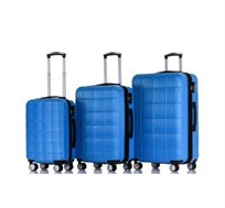 סט 3 מזוודות קשיחות במגוון צבעים SWISS ZUG