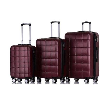 סט 3 מזוודות קשיחות במגוון צבעים SWISS ZUG - משלוח חינם - תמונה 3
