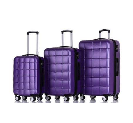 סט 3 מזוודות קשיחות במגוון צבעים SWISS ZUG - משלוח חינם - תמונה 2