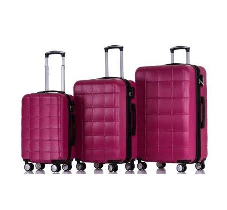 סט 3 מזוודות קשיחות במגוון צבעים SWISS ZUG - משלוח חינם - תמונה 6