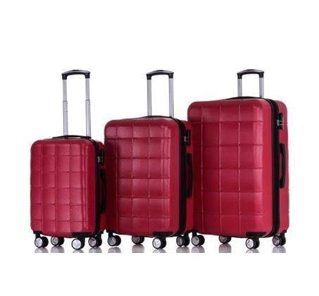 סט 3 מזוודות קשיחות במגוון צבעים SWISS ZUG - משלוח חינם - תמונה 4