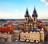 """חבילת נופש ל-7 לילות בפראג כולל טיסות ומלון ע""""ב לינה וא.בוקר + 3 ימי סיור מתנה החל מכ-€629* לאדם!"""