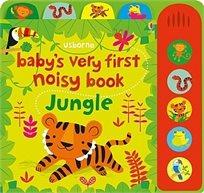 ספר צלילים לתינוק - ג'ונגל