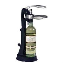 אחת שתיים והפקק בחוץ! פותחן יין שולחני המספק תמיכה חזקה לבקבוק על מנת לאפשר חליצת פקקים ללא כל מאמץ