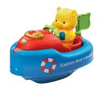 קפטן אמבטיה - סירת משחק מנגנת עם בובה