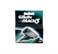 """4 מארזי רביעיית סכיני גילוח Gillette Mach3 ג'ילט - סה""""כ 16 סכינים"""