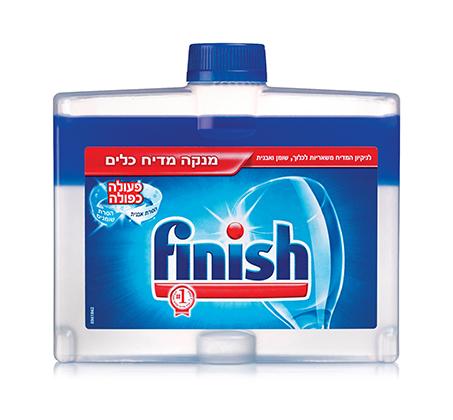 ערכת Finish למדיח הכוללת טבליות, נוזל הברקה, מפיג ריח, מלח ומנקה מדיח - תמונה 5