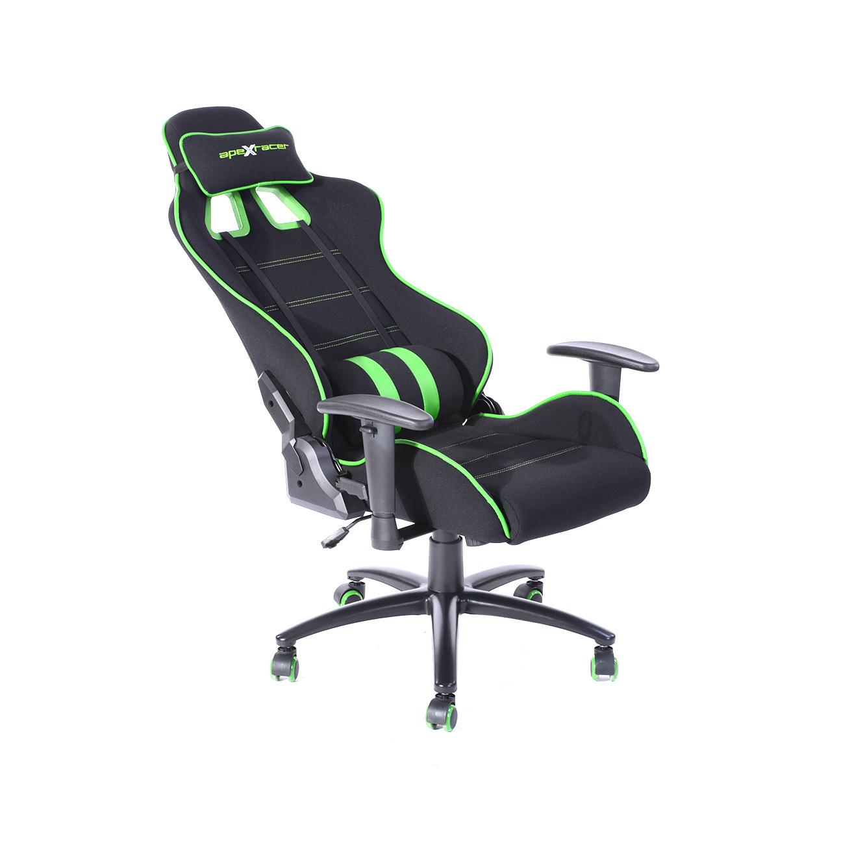 כיסא פרו גיימר מארק לבית או למשרד  לישיבה ממושכת בעל משענת גב נוחה וגבוהה במיוחד HOMAX - תמונה 2