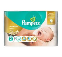 מארז 8 חבילות חיתולים Pampers Premium באריזה חדשה ומוגדלת