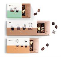 מארז קומבינציית מגשי פרלינים במגוון טעמים  Roy Chocolate